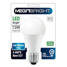 MEGABRIGHT AMPOLLETA LED 15W